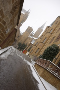 Burg Hohenzollern in Winter