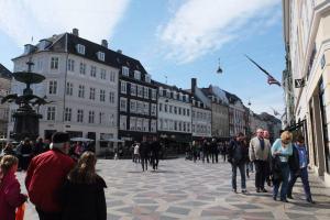 Strøget - Pedestrian shopping street