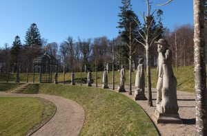 The grounds at Fredensborg Palace: Valley of Norsemen