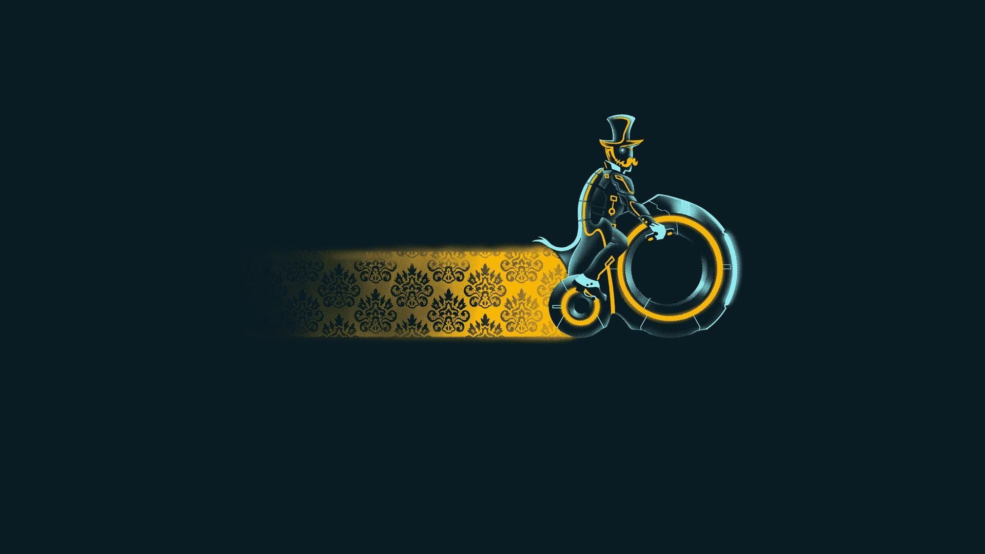 simple bike art 1080p - photo #12