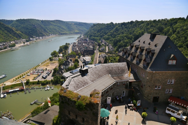 From atop Burg Rheinfels