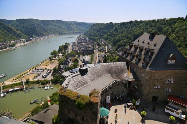 From atop Burg Rheinfels