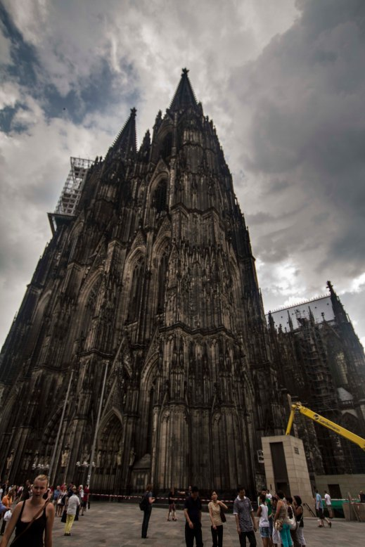 Cologne Cathedral - looming, but beautiful giant