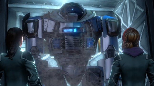 Oversized mech suit, nothing is beyond SR4