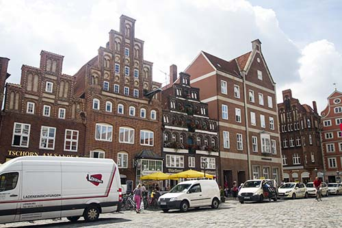 Lüneburg: The slow decline of the buildings