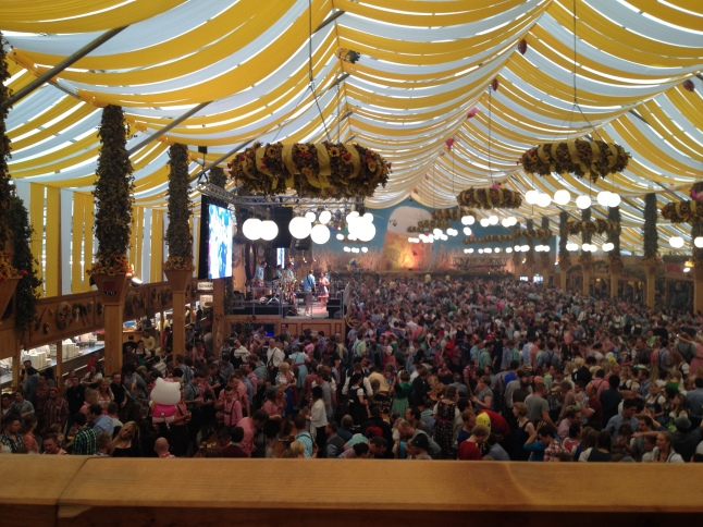 Dinkelacker Beer Tent