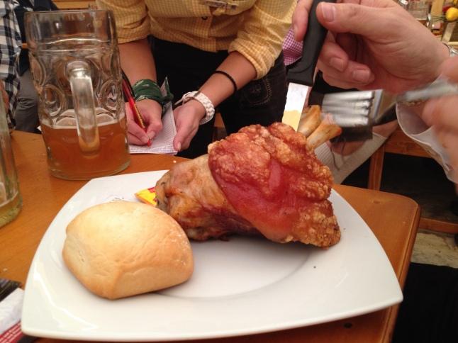 Pork knuckle (Schweinshaxe)