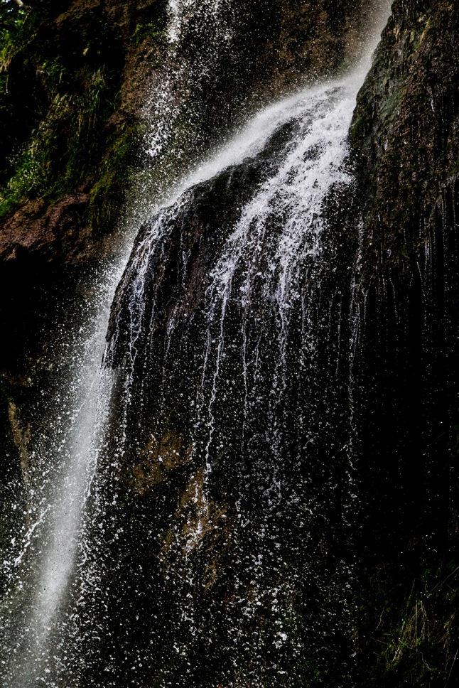 Part of the waterfall