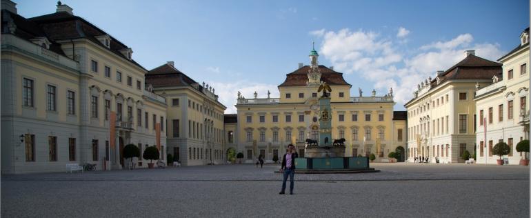 Ludwigsburg Palace Courtyard