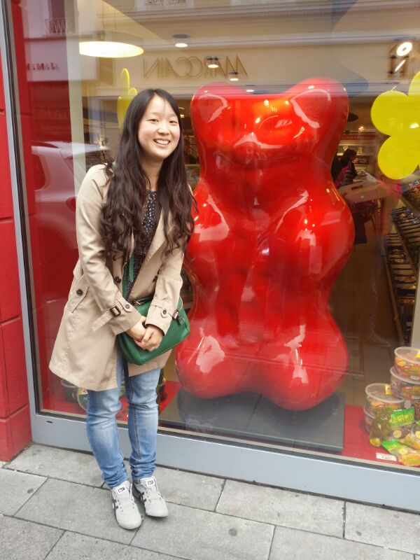 Me and the Haribo bear