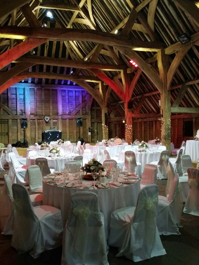 The location: converted barn